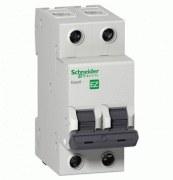 Schneider Electric - Schneider/Easy9 2 Kutuplu 16a C Tipi 6ka 230v W Otomat Sigorta/Ez9f56216