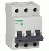 Schneider Electric - Schneider/Easy9 3 Kutuplu 16a C Tipi 6ka 400v K Otomat Sigorta/Ez9f56316