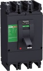 Schneider Electric - Schneider -Ezc400h3400 Termik Manyetik 3 Kutuplu 400 Amper 50ka Mccb Kompakt Şalter - Tmş