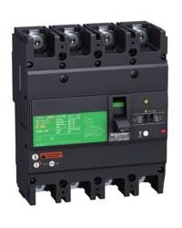Schneider Electric - Schneider- Lv510346 4 Kutuplu Ayarlı Termik Manyetik Kompakt Şalter 80 Amper Cvs100f Tm80d