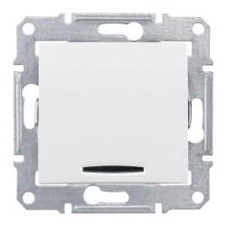 Schneider Electric - Schneider / Sedna Beyaz Işıklı Anahtar / SDN1400121