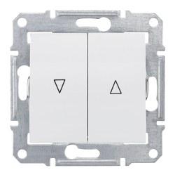 Schneider Electric - Schneider / Sedna Beyaz Kilitli Jaluzi Anahtar / SDN1300321