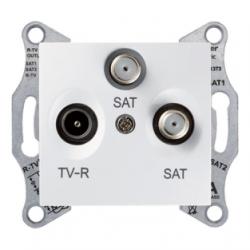 Schneider Electric - Schneider / Sedna Beyaz TV+Sat+Radyo Prizi 1dB Sonlu / SDN3501321