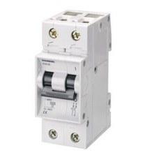 Siemens - 0.5a; 1 Faz Nötr; >N< Otomat; Anahtarlı Otomatik Sigorta; 3ka; C Tipi; Yavaş Karakterli