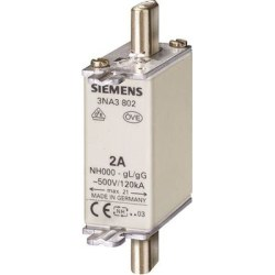 Siemens - Siemens / 160A Steatit (Seramik) Gövdeli NH-Bıçaklı Sigorta Buşonu / 3NA3836