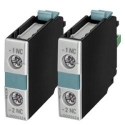 Siemens - Siemens / 1no Yardımcı Kontak Bloğu Boy S0-S12 / 3RH1921-1CA10
