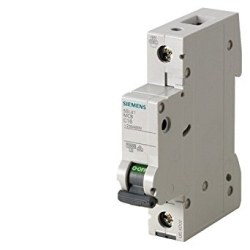 Siemens - Siemens-25a; 1 Fazlı; 70mm Otomat; Anahtarlı Otomatik Sigorta; 10ka; C Tipi; Yavaş Karakterli-5sl6125-7