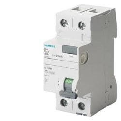 Siemens - Siemens / 2x25A 30 mA Kaçak Akım Rölesi 10kA / 5SV4312-0