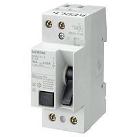Siemens - Siemens / 2x25A 300 mA Kaçak Akım Rölesi 10kA / 5SM1612-0