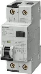 Siemens - Siemens / 2x32A 30 mA Kaçak Akım Rölesi 4.5kA / 5SU1353-1KK32