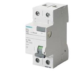 Siemens - Siemens / 2x63A 300 mA Kaçak Akım Rölesi 10kA / 5SV4616-0