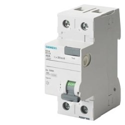 Siemens - Siemens / 2x80A 30 mA Kaçak Akım Rölesi 10kA / 5SV4317-0