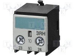 Siemens - Siemens / 4no Yardımcı Kontak Bloğu Boy S0-S12 / 3RH1921-1FA40