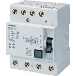 Siemens - Siemens / 4x25A 30 mA Kaçak Akım Rölesi 10kA / 5SM1342-0