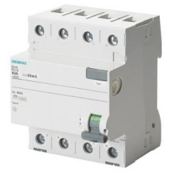 Siemens - Siemens / 4x25A 30 mA Kaçak Akım Rölesi 10kA / 5SV4342-0
