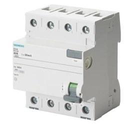 Siemens - Siemens / 4x25A 300 mA Kaçak Akım Rölesi 10kA / 5SV4642-0