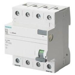 Siemens - Siemens / 4x40A 30 mA Kaçak Akım Rölesi 10kA / 5SV4344-0