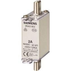 Siemens - Siemens / 50A Steatit (Seramik) Gövdeli NH-Bıçaklı Sigorta Buşonu / 3NA3820