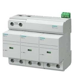 Siemens - Sıemens-B Sınıfı; 3 Kutuplu Tn-C Sistemleri İçin; Yıldırıma Karşı Koruyucu Parafudr-5sd7413-1