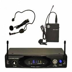Topp Pro - Telsiz Mikrofon Seti (HM-38 Headset Mikrofon + LM-10 Yaka Mikrofonu + Gitar Kablosu)