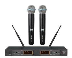Decon - UHF 100 Kanal Çift El Mikrofonu