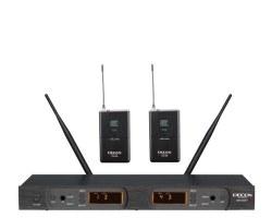 Decon - UHF 100 Kanal Çift Yaka Mikrofonu