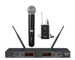 Decon - UHF 100 Kanal El+Yaka Mikrofonu