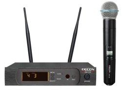 Decon - UHF 100 Kanal Tek El Mikrofonu