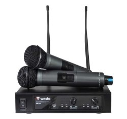 Westa - UHF 2 El Telsiz Mikrofon