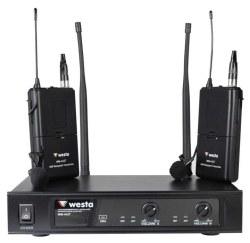 Westa - UHF 2 Yakal Telsiz Mikrofon
