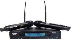 Westa - UHF Geniş Bant İKİ El Telsiz Mikrofon