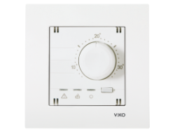 Viko - Viko / Karre - Meridian Beyaz Analog Termostat / 90967130