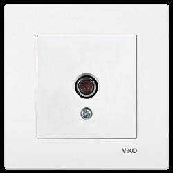 Viko - Viko / Karre - Meridian Beyaz Dirençsiz TV Prizi / 90967049