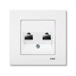 Viko - Viko / Karre - Meridian Beyaz İkili Data Cat5E Prizi / 90967034