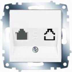 Viko - Viko / Karre - Meridian Beyaz İkili Data Prizi (Jacksız) / 90967062