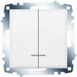 Viko - Viko / Karre - Meridian Beyaz Işıklı Komütatör / 90967002