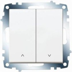 Viko - Viko / Karre - Meridian Beyaz Jaluzi Kumanda Anahtarı / 90967016