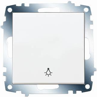 Viko / Karre - Meridian Beyaz Liht Anahtar / 90967003