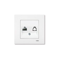 Viko - Viko / Karre - Meridian Beyaz Tekli Data Cat6 Prizi / 90967078