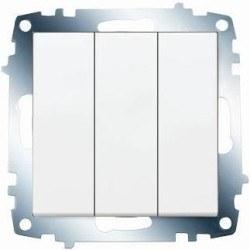 Viko - Viko / Karre - Meridian Beyaz Üçlü Anahtar / 90967068