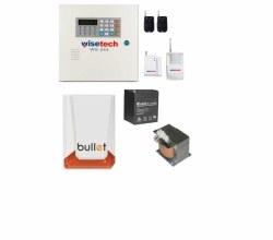 Wisetech - Wisetech Kablosuz Alarm Sistemi Paketi